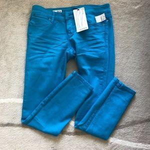 Gap color skinny jeans, 27/4p